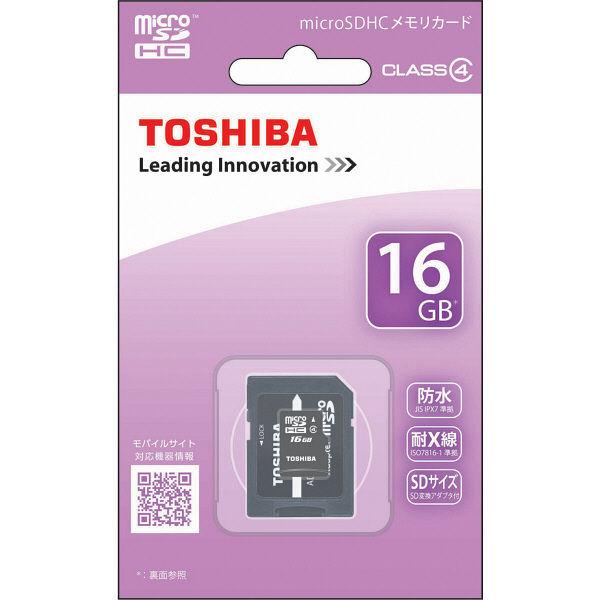 東芝 microSDHC 16GB