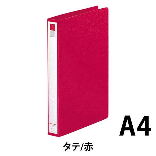 リヒトラブ リングファイル A4タテ 背幅36mm 赤 F877U 1箱(10冊入)