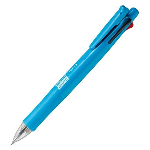 ゼブラ クリップーオンマルチF フレッシュブルー B4SA1 1セット(3本:1本×3)