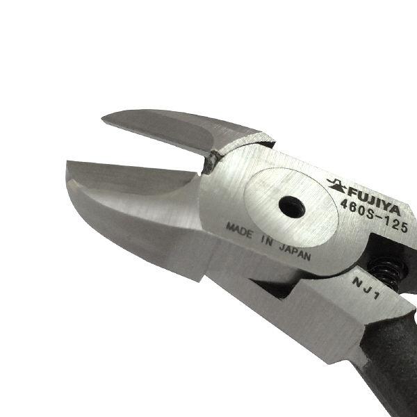 フジ矢 フジ矢 超硬刃付スタンダードニッパ 125mm 460S125 1丁 117ー9462 (直送品)