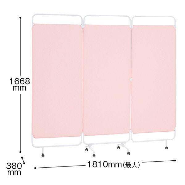 トーカイスクリーン メディカルソフトスクリーン3連タイプ ピンク