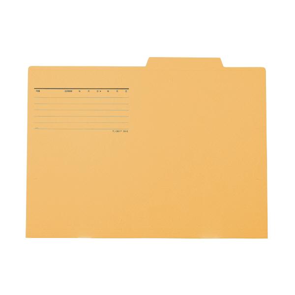 プラス 個別フォルダー B4 イエロー FL-068IF 87437 1箱(100枚:10枚入×10袋)