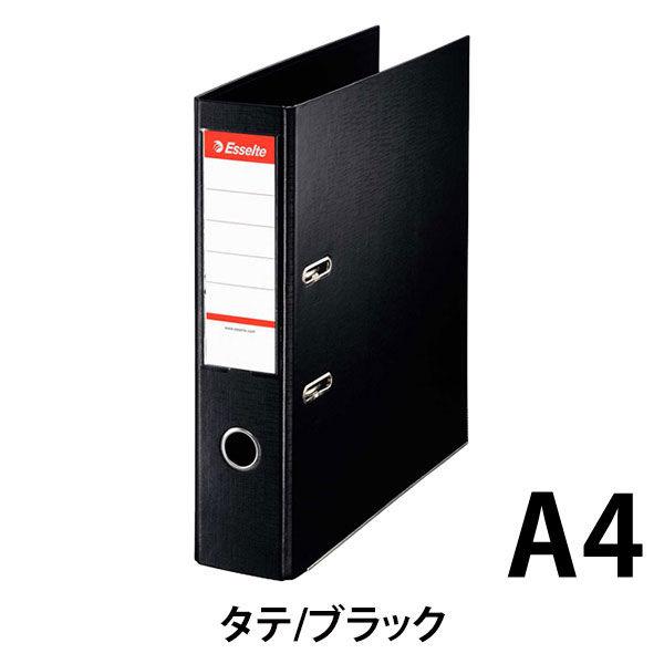 エセルテジャパン レバー式アーチファイル A4タテ 背幅75mm ブラック 70ST 1箱(10冊入)