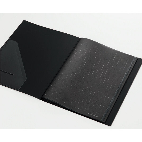 クリアーファイルA4縦20P 黒 10冊