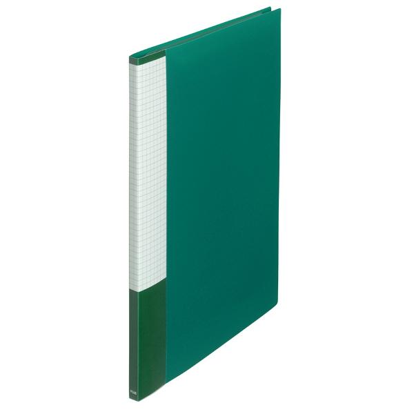 プラス スーパーエコノミークリアーファイル A4タテ 10ポケット グリーン FC-121EL 88413 1セット(30冊)
