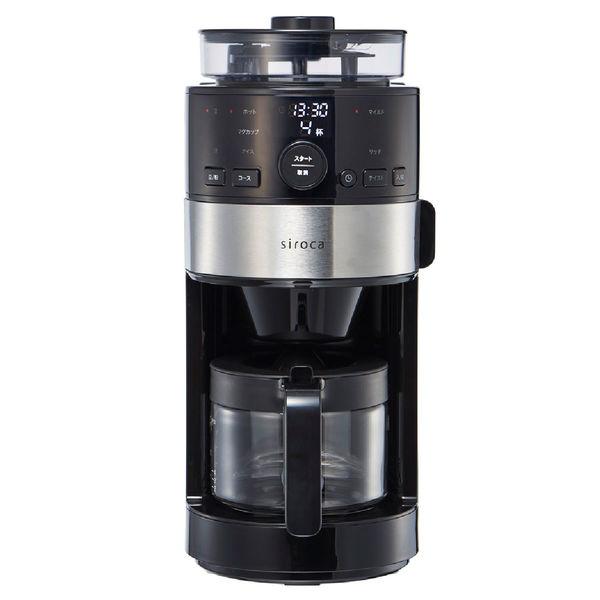 シロカ コーン式コーヒーメーカー 4杯用