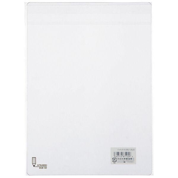 三菱鉛筆(uni) 下敷き 透明 B5 DUS120.T 1箱(200枚入)