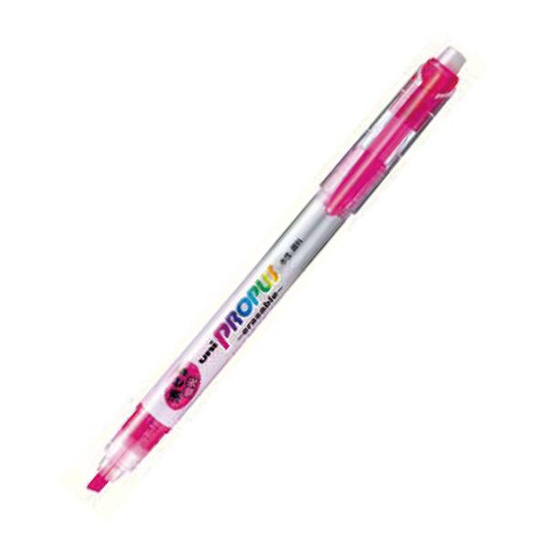 三菱鉛筆(uni) 消せる蛍光ペン プロパスイレイサブル 5色セット PUS151ER5C 1箱(10セット入) (取寄品)