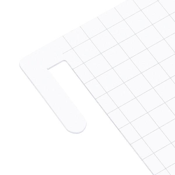 ロルバーンポケット付メモ L用下敷き 銀