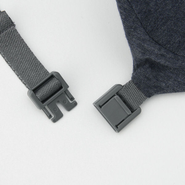 フィットするネッククッション 杢ネイビー