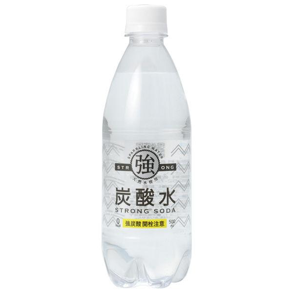 強炭酸水 500ml 6本