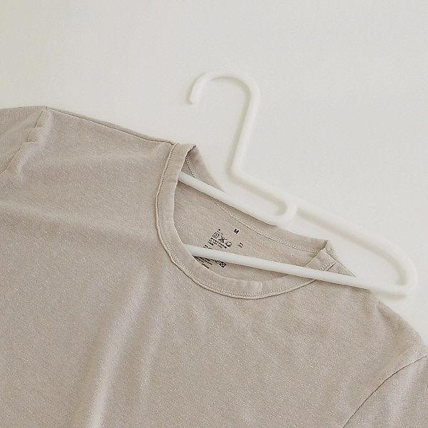PP洗濯用ハンガー・シャツ用・3本組