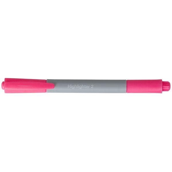 アスクル蛍光ペン ツイン ピンク 10本