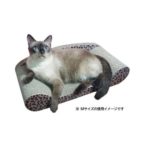 猫ちゃん大好きつめとぎ ソファ M