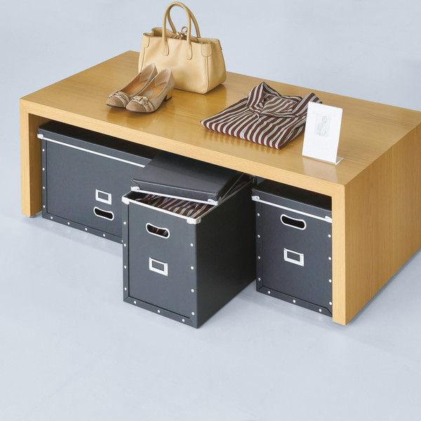 パルプボード収納ボックス(組立式) L