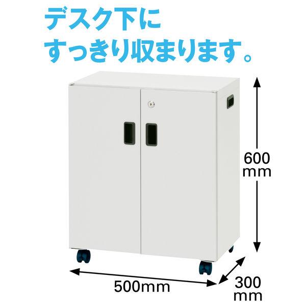 ナカバヤシ セキュリティーデスクターナ 高さ600mm×幅500mm×奥行300mm ND-S722 1台