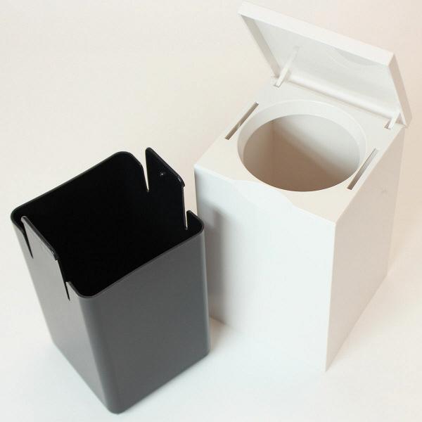 マーナ トイレポット 角型 ポット(角型) 1セット(2個:1個×2)