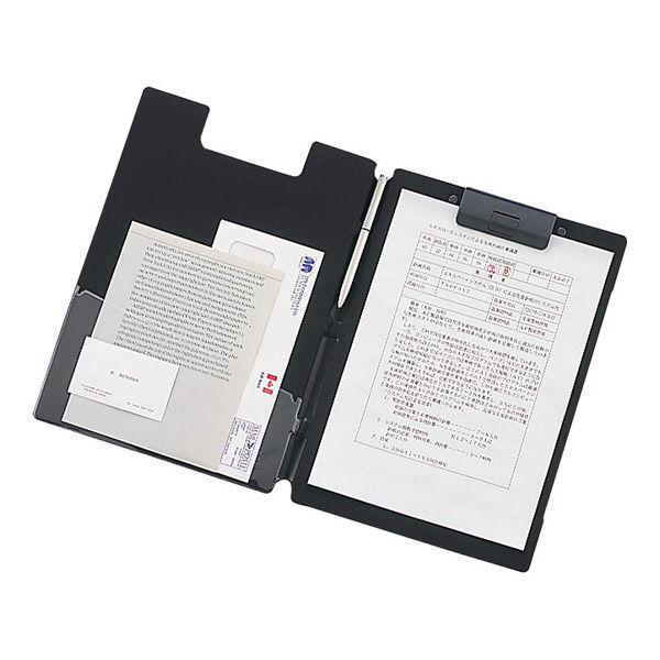 リヒトラブ クリップファイル<捺印対応> F2660-24 1セット(5冊:1冊×5)