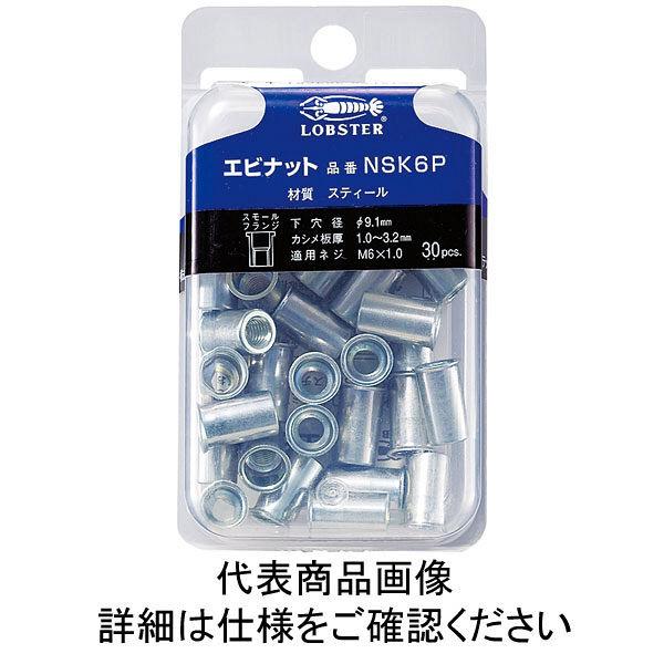 ロブテックス エビ パック入りナット(50本入) Kタイプ スティール 4ー2.0 NSK4P  362ー2223 (直送品)