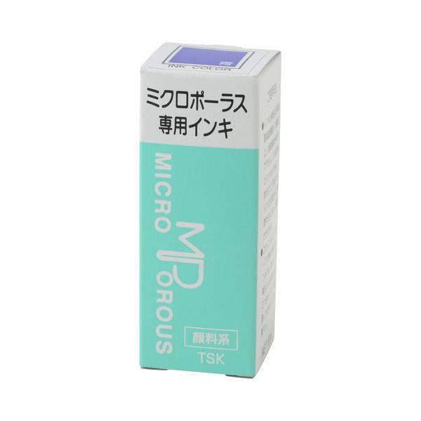 浸透印専用補充インキ 10ml 青 TSK-55348
