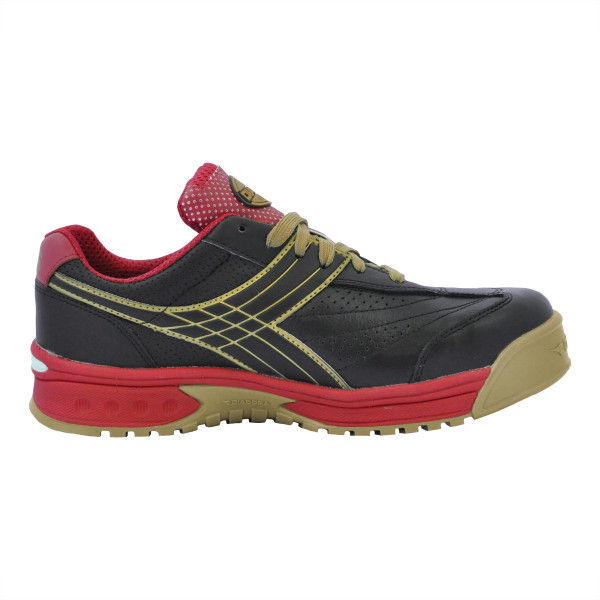 ドンケル R209014714 ディアドラ安全作業靴 ピーコック PCー22黒&ブラック 27.5cm 1足 (直送品)