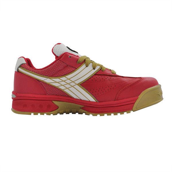 ドンケル R209014814 ディアドラ安全作業靴 ピーコック PCー31赤&ホワイト 27.5cm 1足 (直送品)