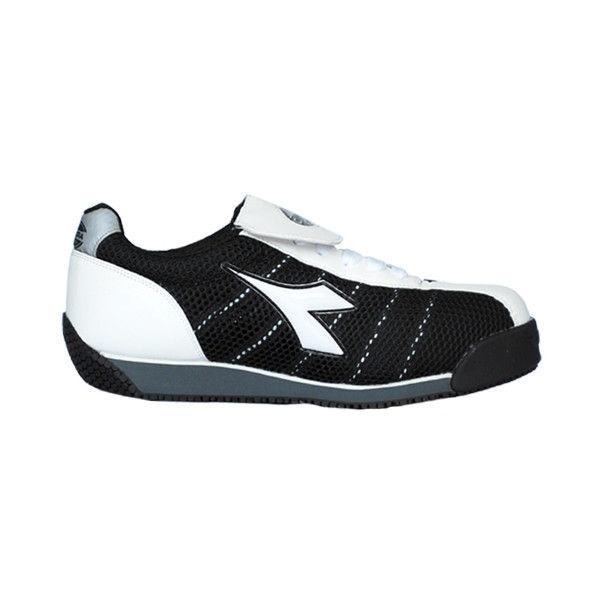 ドンケル R209012206 ディアドラ安全作業靴 キングフィッシャーKFー12 白&ブラック 23.5cm 1足 (直送品)
