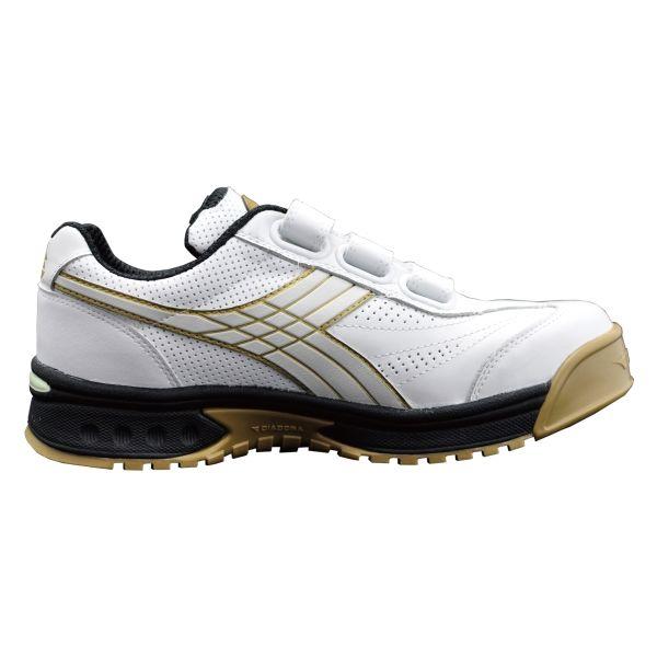 ドンケル R209016009 ディアドラ安全作業靴 ロビン RBー11 白25.0cm 1足 (直送品)