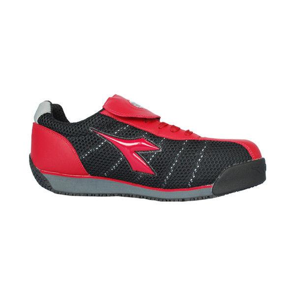 ドンケル R209012312 ディアドラ安全作業靴 キングフィッシャーKFー32 赤&ブラック 26.5cm 1足 (直送品)