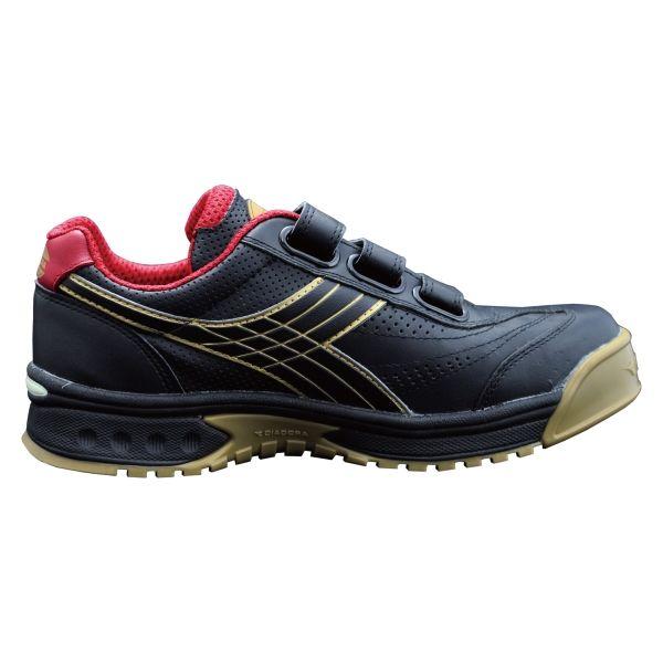 ドンケル R209016106 ディアドラ安全作業靴 ロビン RBー22 黒23.5cm 1足 (直送品)