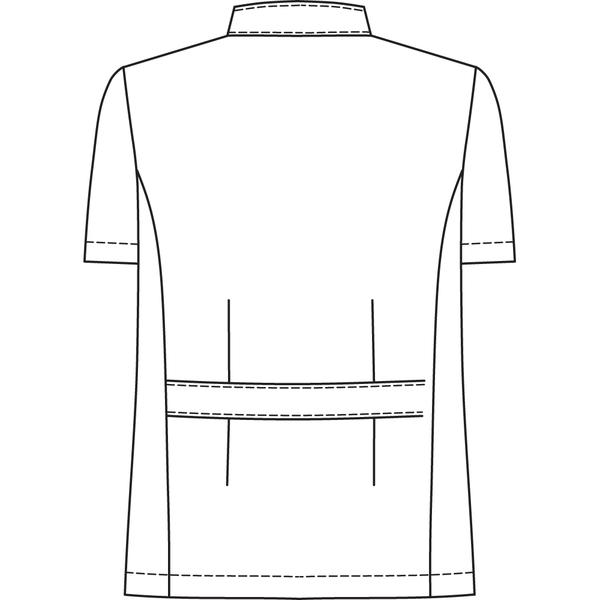 オンワード 白衣 BR-4002 メンズジップアップジャケットサックスブルー L 1枚 (取寄品)