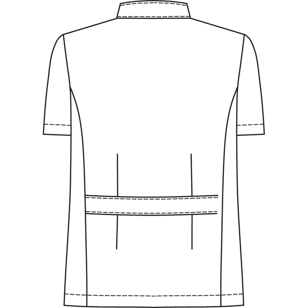 オンワード 白衣 BR-4002 メンズジップアップジャケットサックスブルー LL 1枚 (取寄品)