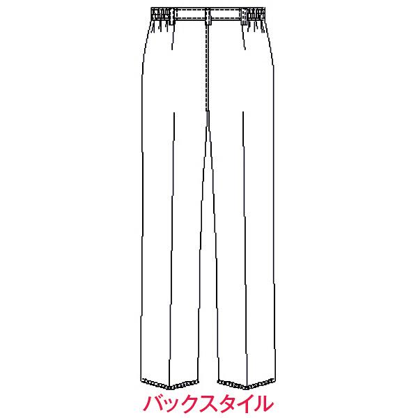 オンワード レディスパンツ(ナースパンツ) ホワイト PO-2016 M 1枚 (取寄品)