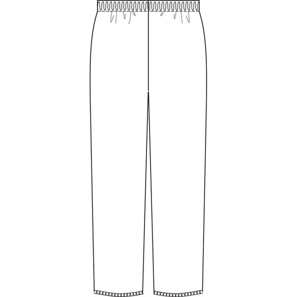 オンワード 白衣 PR-5005 男女兼用スクラブパンツワイン L 1枚 (取寄品)