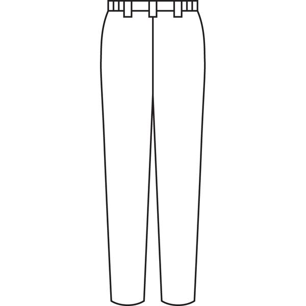 住商モンブラン ナースパンツ 医療白衣 レディス 白 4L 73-1331 (直送品)