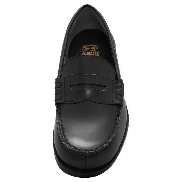 ミドリ安全 2125062210 女性用 ローファー超耐滑作業靴ハイグリップHー950L 黒 25.5cm 1足 (直送品)