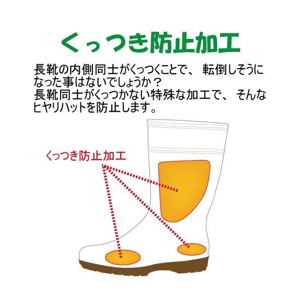 ミドリ安全 2130004008 耐滑抗菌長靴ハイグリップ HG2000Nスーパー白 24.5cm 1足 (直送品)