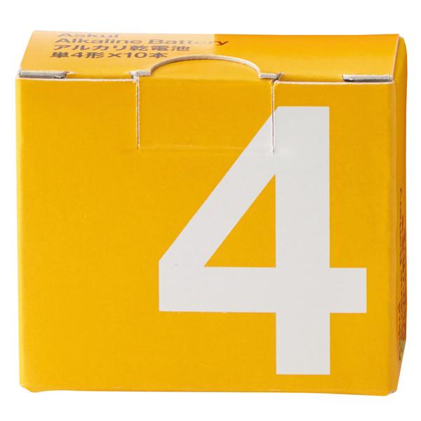 アルカリ単4乾電池 10本