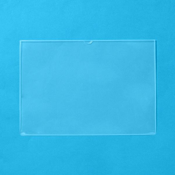 プラス 再生カードケース(ソフトタイプ) A4 215×305mm 34433