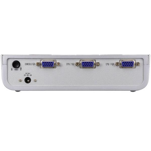 エレコム ディスプレィ切替器 2ポート 電子式(ICスイッチ) DTSP22-VGA (取寄品)