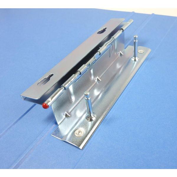 コクヨ Tファイル色厚板紙 A4縦 20mmとじ2穴 青 フ-700NB