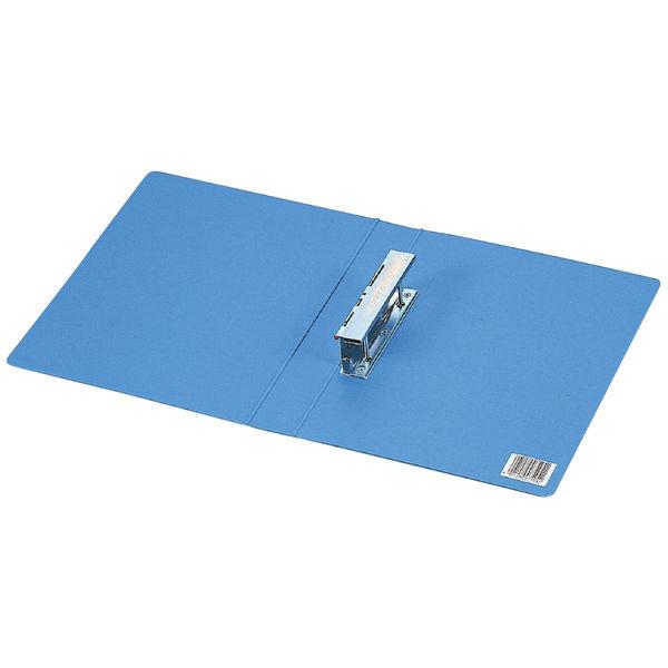 コクヨ Tファイル色厚板紙 A4縦 30mmとじ2穴 青 フ-710NB