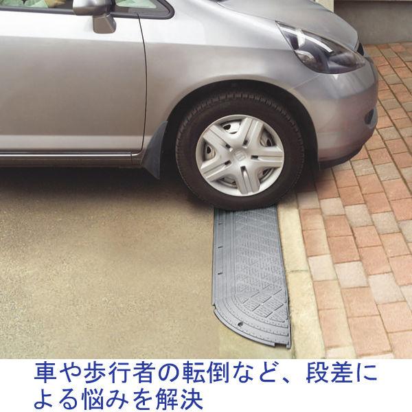 アイリスオーヤマ 段差プレート NDP 900E 灰 NDP900E(182407) 1個