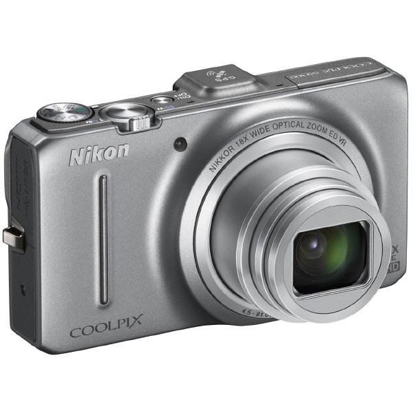 ニコン COOLPIX S9300 クリスタルシルバー COOLPIXS9300SL