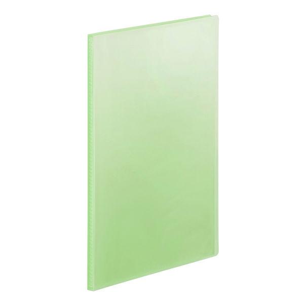 クリアファイルA4 20P 20冊 緑