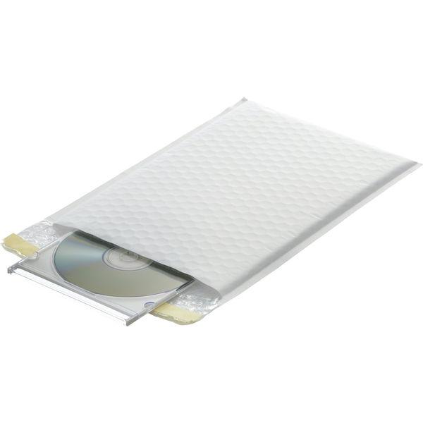 クッション封筒 CD・DVD用 ホワイト