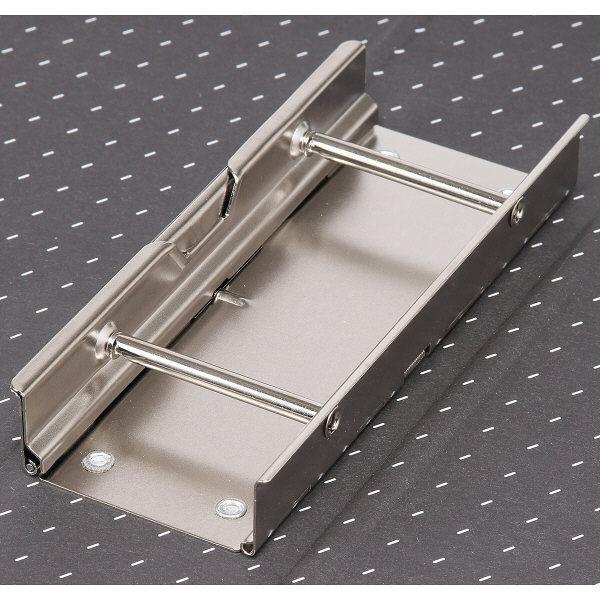 ハピラ 片開きパイプ式ファイル A5ヨコ 青 1セット(3冊:1冊×3)