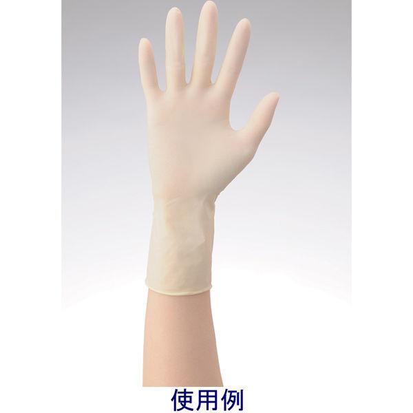 リーテック No360ラテックス手袋ノンパウダー指先エンボスSS 1箱(100枚入) (使い捨て手袋)