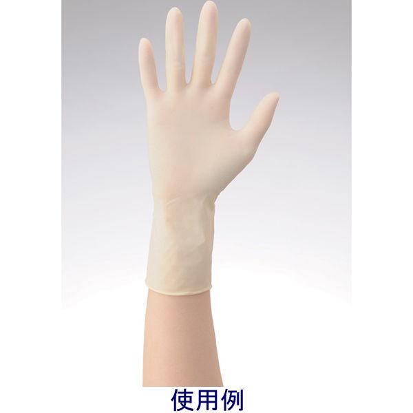 リーテック No360ラテックス手袋ノンパウダー指先エンボスS 1箱(100枚入) (使い捨て手袋)