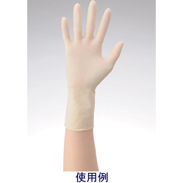 リーテック No360ラテックス手袋ノンパウダー指先エンボスM 1箱(100枚入) (使い捨て手袋)